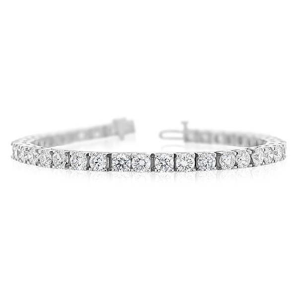 10.30 Carat Diamond Tennis Bracelet photo