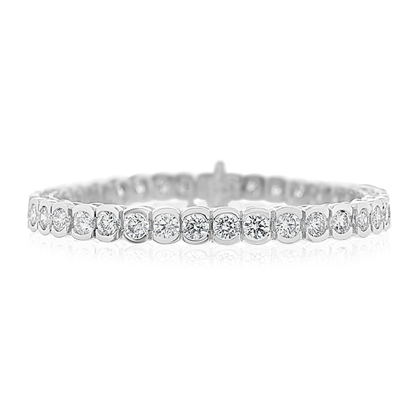 11.10 Carat Diamond Tennis Bracelet photo