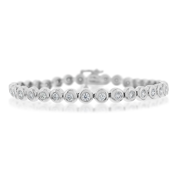 2 1/2 Carat Diamond Line Bracelet photo