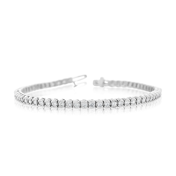 2 Carat Diamond Tennis Bracelet photo