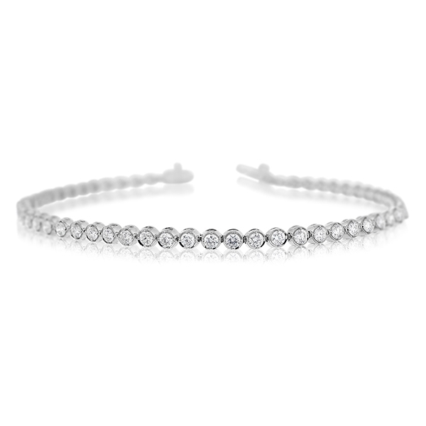 2.17 Carat Diamond Line Bracelet photo