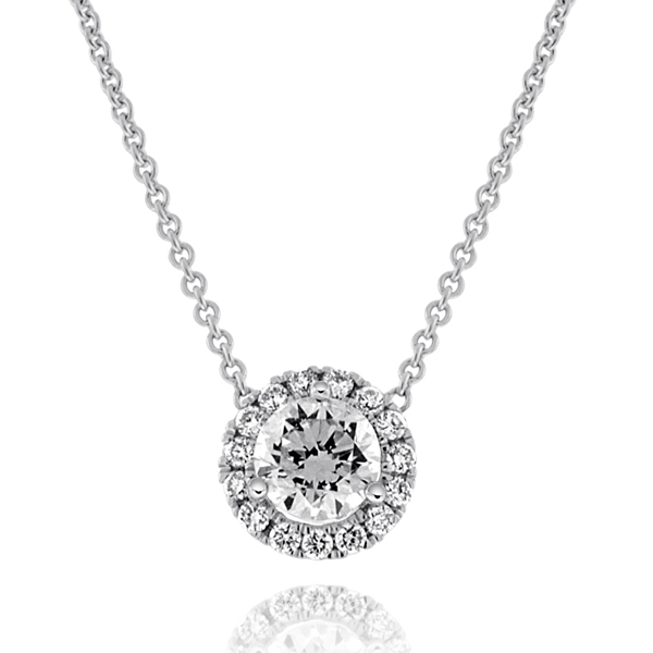 .31 Carat Diamond Margarita Necklace photo