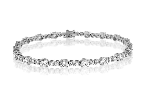 5.71 Carat Diamond Bracelet photo
