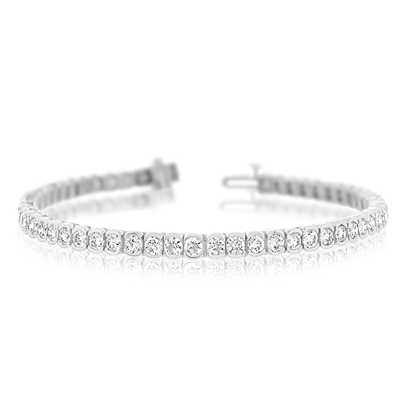 6.00 Carat Diamond Tennis Bracelet photo