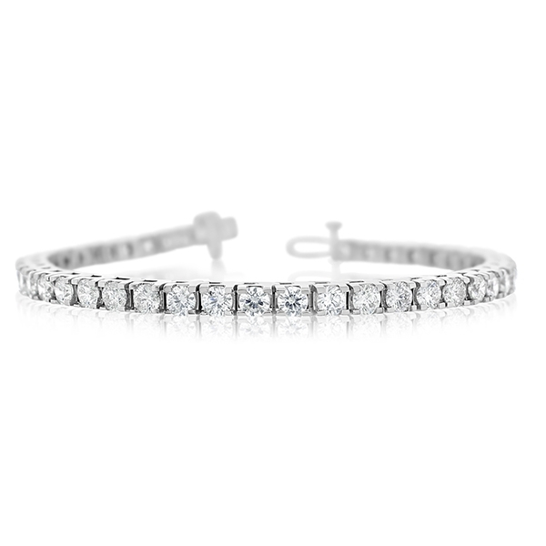 7 Carat Diamond Bracelet photo