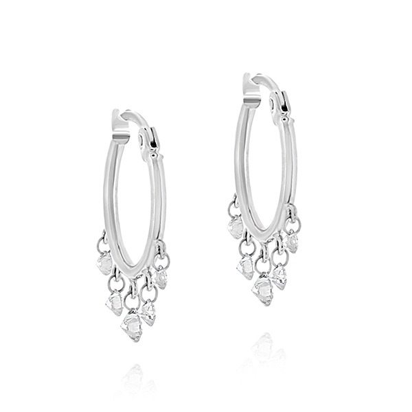 ARESA Quintet Diamond Hoops photo