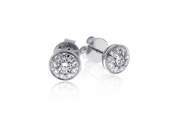 Bouquet Diamond Earrings photo