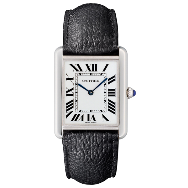 CARTIER Large Tank Solo Watch photo