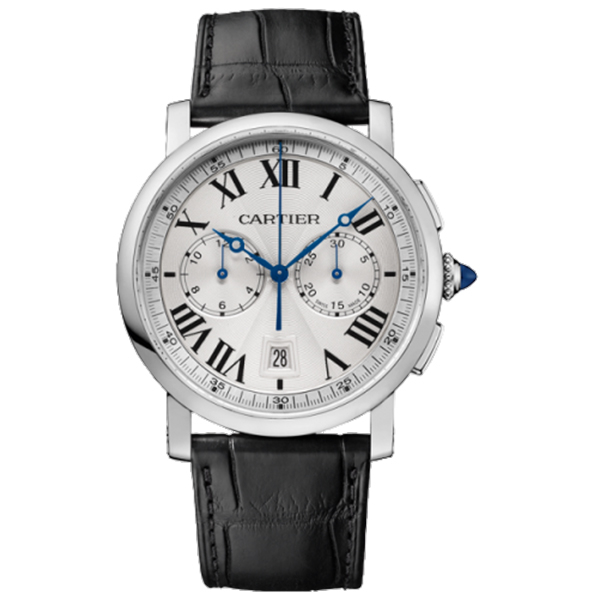 CARTIER Rotonde Chronograph 40mm Watch photo