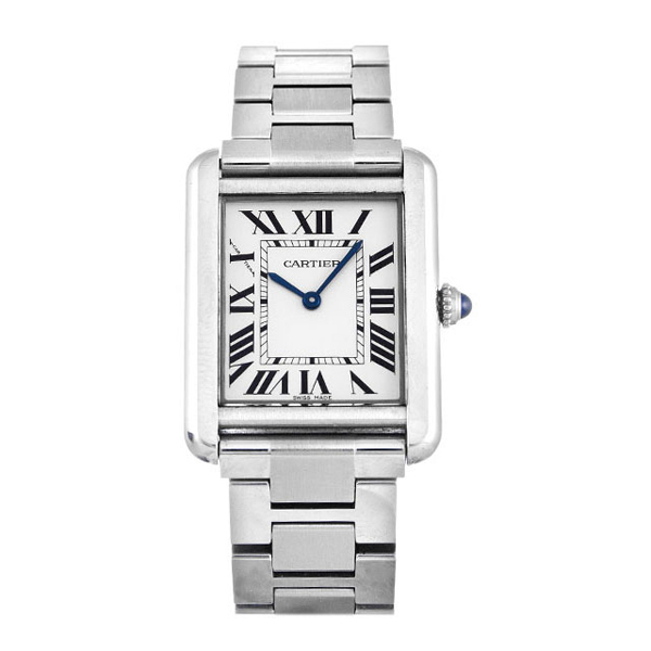 CARTIER Small Tank Solo Watch photo