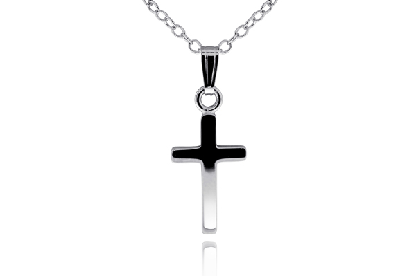 Children's Cross Necklace photo