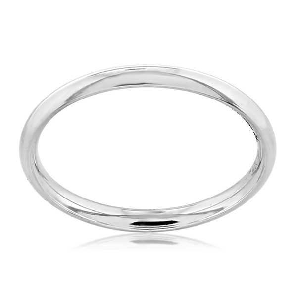 Comfort Fit Wedding Band Reis Nichols Jewelers