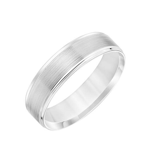 Comfort Fit Wedding Band photo