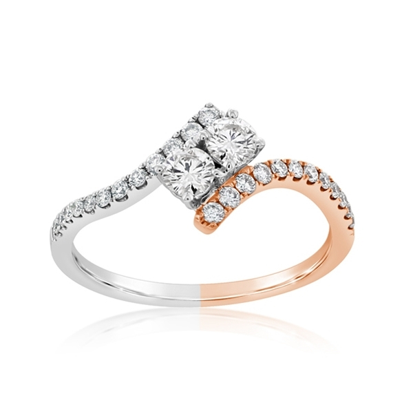 Complete 0.47 Carat Diamond Engagement Ring  photo