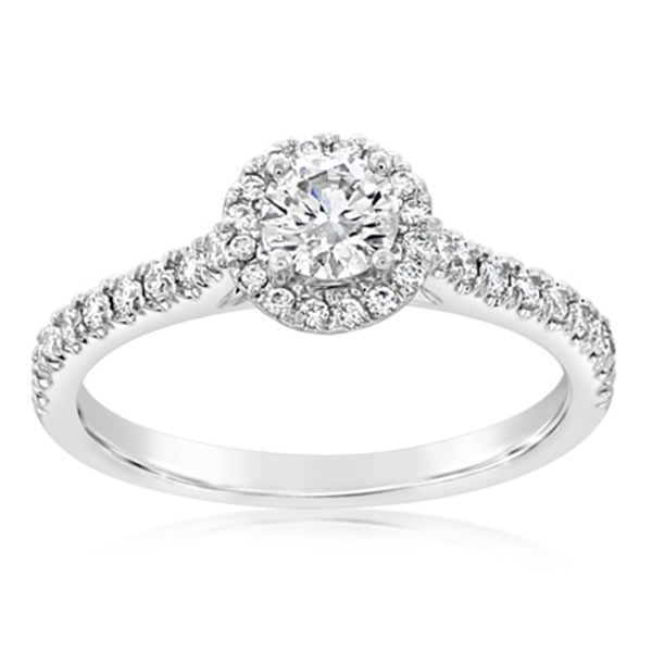Complete 0.50 Carat Diamond Engagement Ring photo