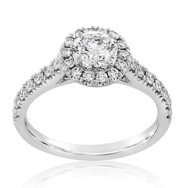 Complete 1.25 Carat Diamond Engagement Ring photo