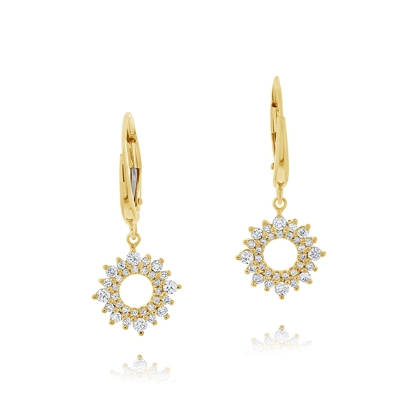 Crown Collection Diamond Earrings photo