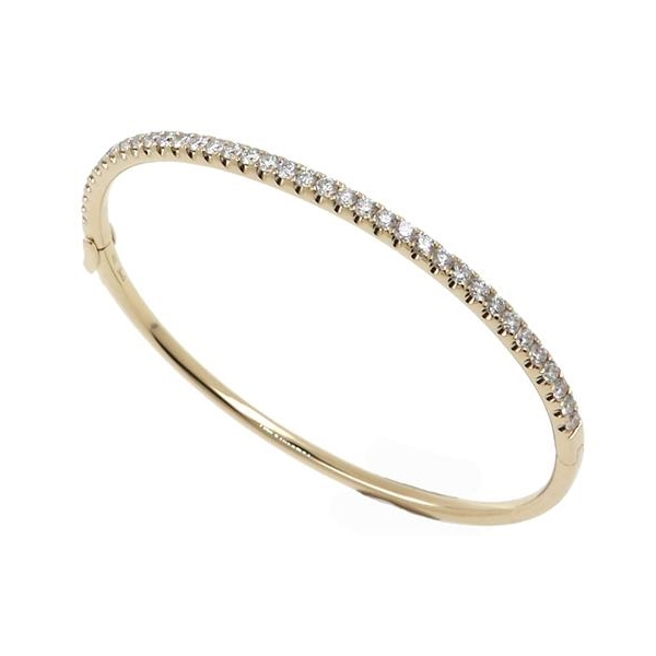 Diamond Bangle Bracelet photo