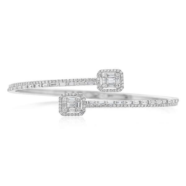 Diamond Bypass Bracelet photo