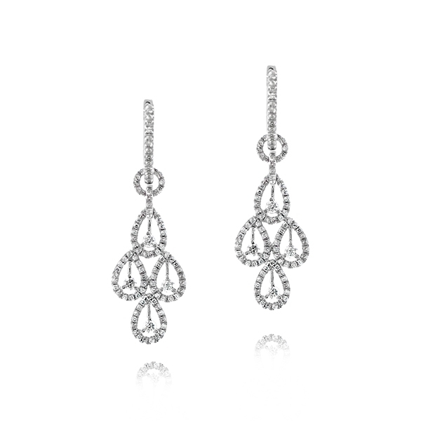 Diamond Chandelier Earrings photo