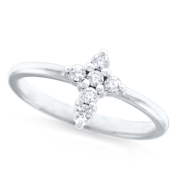 Diamond Cross Ring photo