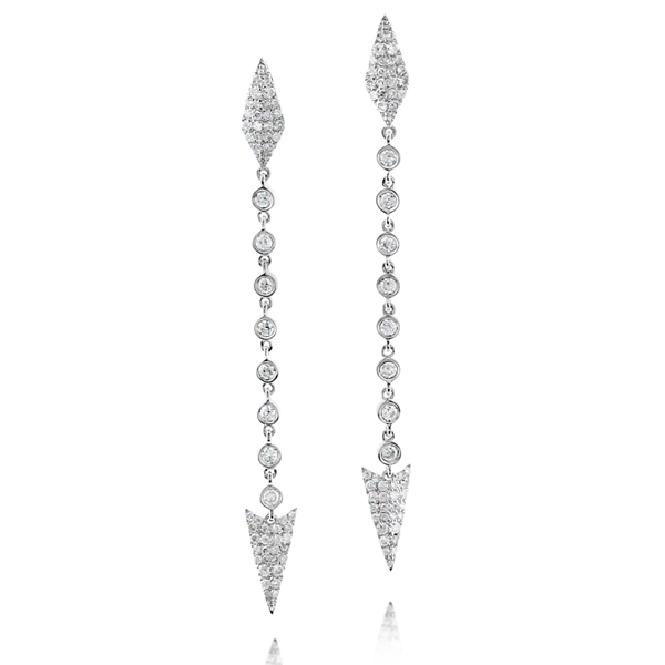 Diamond Dagger Earrings photo