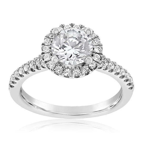 Diamond Engagement Ring Setting photo