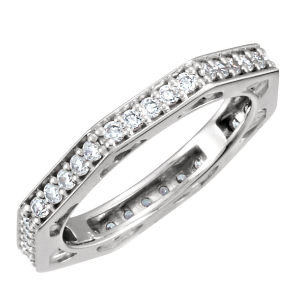 Diamond Enternity Wedding Band photo