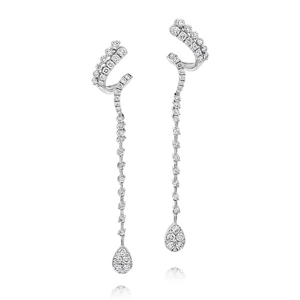 Diamond Fashion Drop Earrings photo
