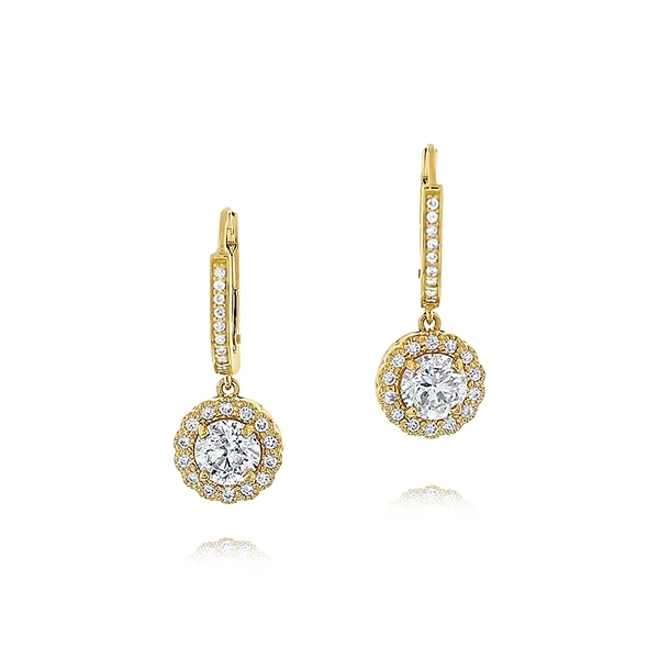 Diamond Fashion Earrings photo