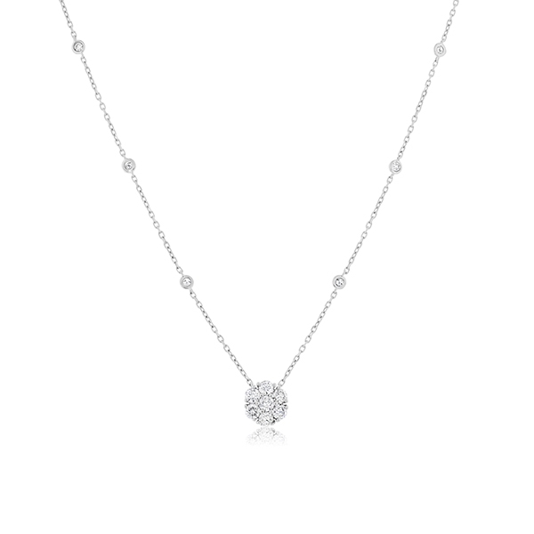 Diamond Fashion Necklace photo
