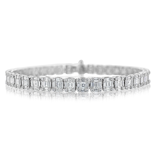 Diamond Line Bracelet photo