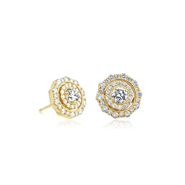 Diamond Pirouette Convertable Earrings photo