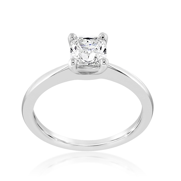 Diamond Solitaire Ring photo