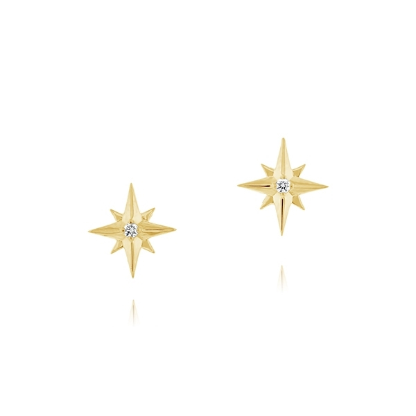 Diamond Star Earrings photo