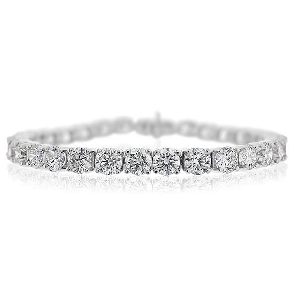 Diamond Tennis Bracelet photo
