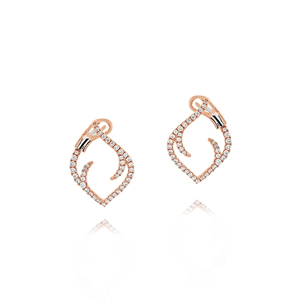 Diamond Thorn Earrings photo