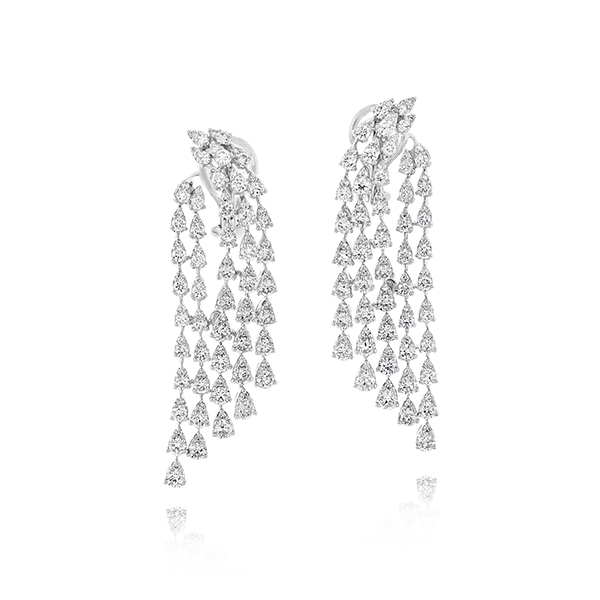 Diamond Waterfall Earrings photo
