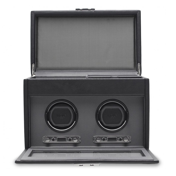 Double Watch Winder With Storage photo