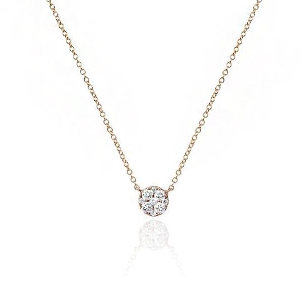 EF COLLECTION Diamond Choker Necklace photo