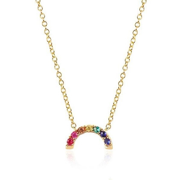 EF COLLECTION Rainbow Necklace photo
