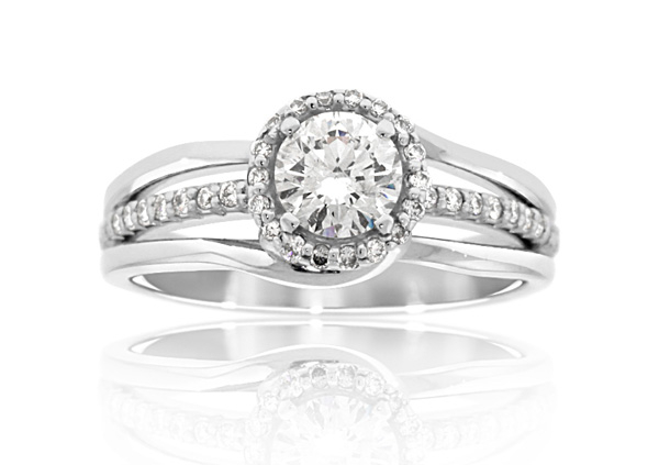 EMBRACE Collection Diamond Engagement Ring photo