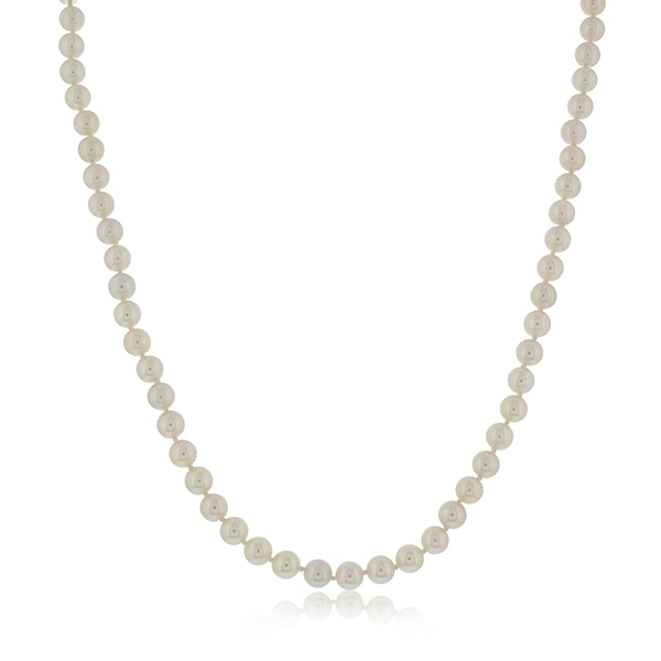 Estate Blue Lagoon Pearl Necklace photo
