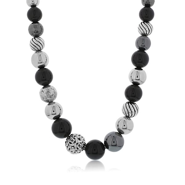 Estate David Yurman Classic Ball Necklace photo