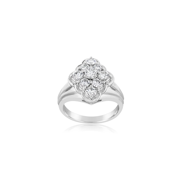Estate Diamond Fashion Ring photo