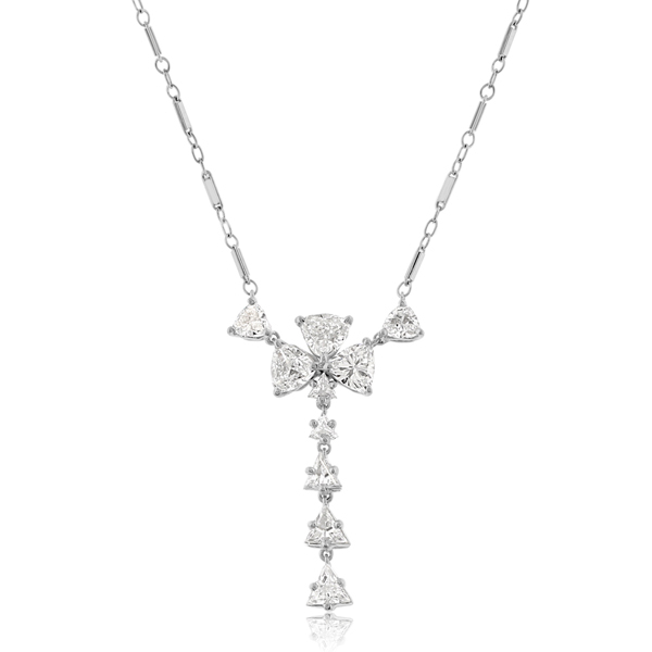 Estate Diamond Necklace photo