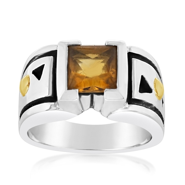 Estate John Atencio Citrine Ring photo