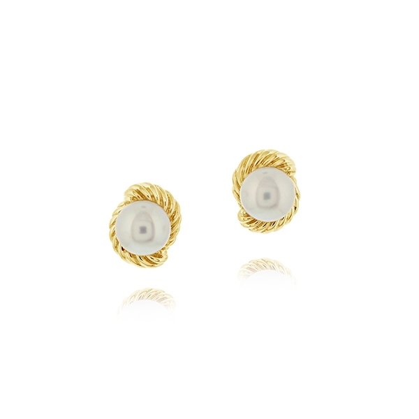 Estate Pearl Earrings photo