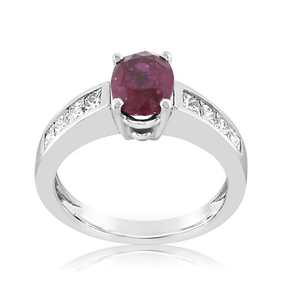Estate Ruby & Diamond Ring photo