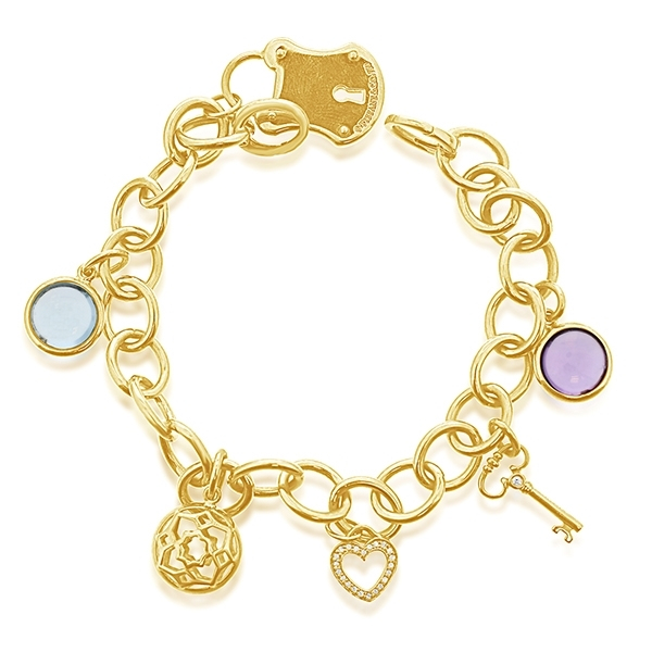 Estate Tiffany & Co. Charm Bracelet photo